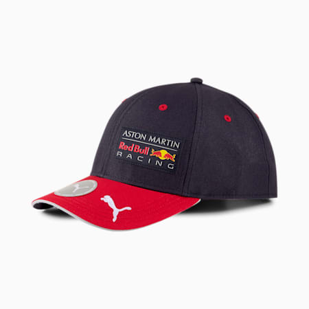 AMRBR Replica Team Snapback Cap, NIGHT SKY-Chinese Red, small