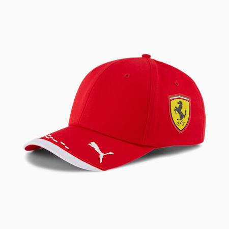 Ferrari Replica Team Cap, Rosso Corsa, small