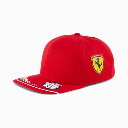 Ferrari Replica Leclerc Cap, Rosso Corsa, small