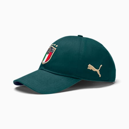 Italia Football Cap, Ponderosa Pine-Peacoat, small