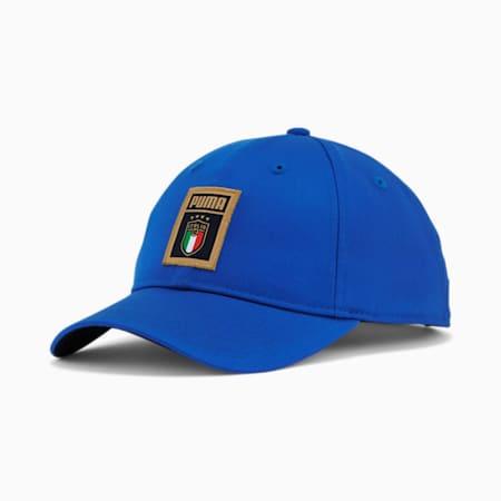 Gorra de béisbol  PUMA DNA de la FIGC, Team Power Blue-Peacoat, pequeño