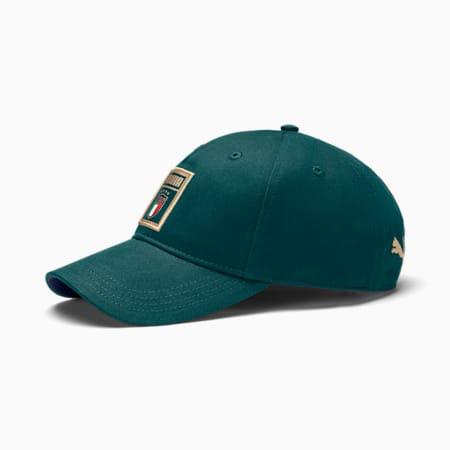Gorra de béisbol  PUMA DNA de la FIGC, Ponderosa Pine-Peacoat, pequeño