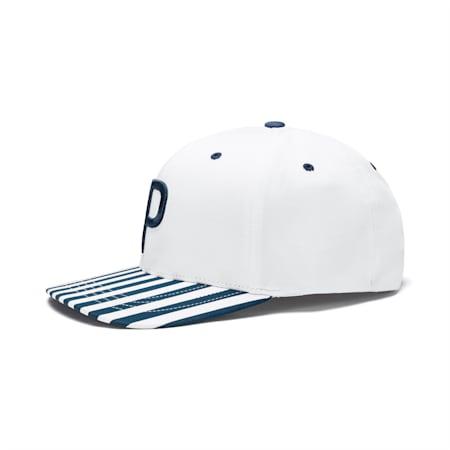 ゴルフ P 110 キャップ PARS, Bright White, small-JPN