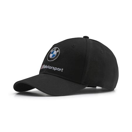BMW M Motorsport Unisex Baseball Dad Cap, Puma Black, small-IND