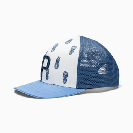 Casquette P 110 Sweetness Golf Trucker pour homme, Bright White, small
