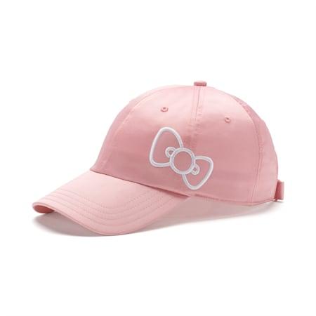 Gorra PUMA x HELLO KITTY para mujer, Silver Pink, pequeño