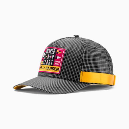PUMA x HELLY HANSEN Baseball Cap, Puma Black-BRIGHT ROSE, small