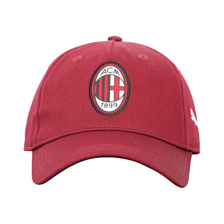 AC Milan 2.0 Team Football Cap, Cordovan-Puma Black, small-IND