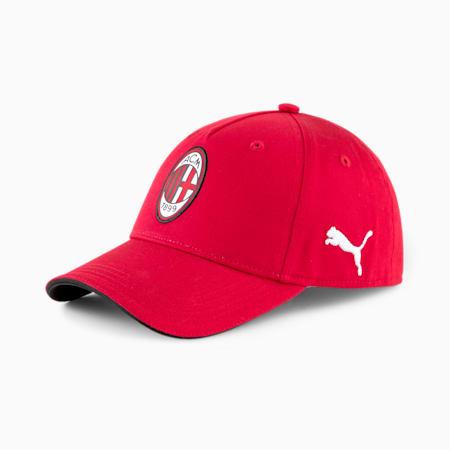 AC Milan 2.0 Team Football Cap, Tango Red, small