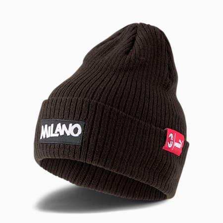 AC Milan ftblCULTURE Fußball Beanie, Puma Black, small