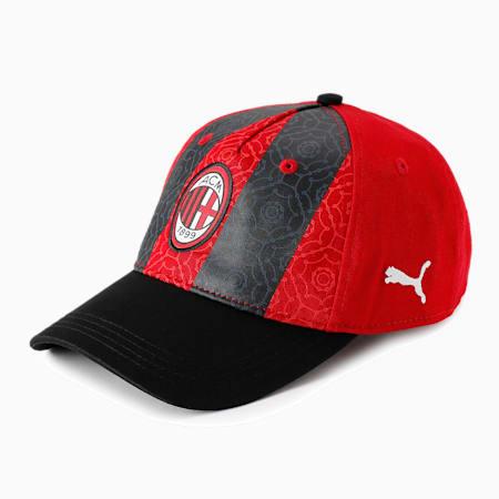 ACミラン ACM FTBL CORE ベースボール キャップ, Puma Black-Tango Red, small-JPN
