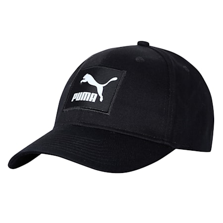 Archive Logo Label Cap, Puma Black, small-IND