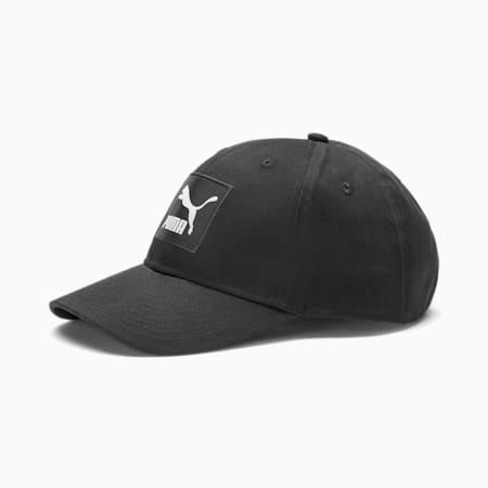 Classics Archive Logo Label Baseball Cap, Puma Black, small-SEA