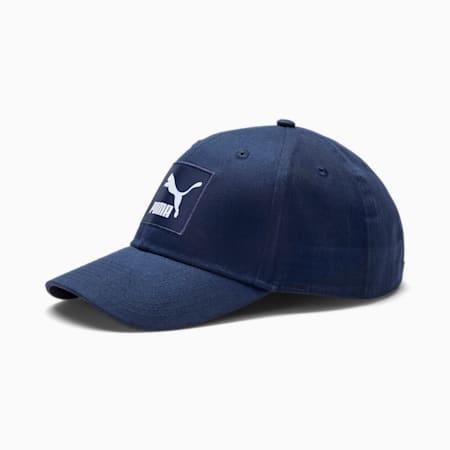 Classics Archive Logo Label Baseball Cap, Peacoat, small-SEA