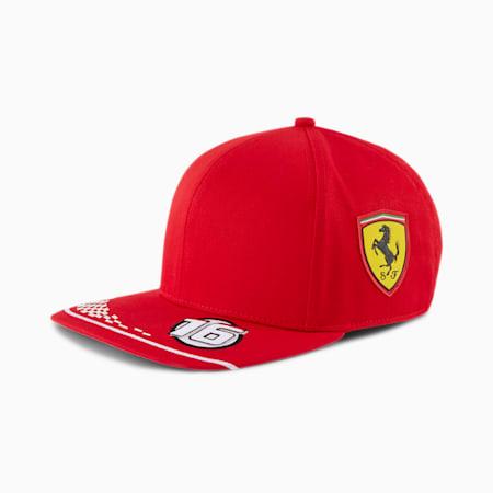 Réplica de gorra Leclerc deScuderiaFerrari para niño, Rosso Corsa, pequeño