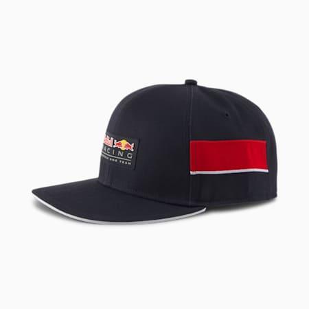 Red Bull Racing Lifestyle Flat Brim Cap, NIGHT SKY, small