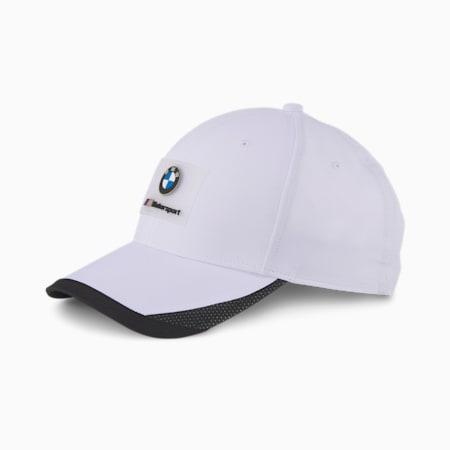 BMW M MTSP ベースボール キャップ, Puma White, small-JPN
