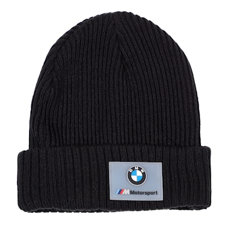 BMW M Motorsport Beanie, Puma Black, small-IND
