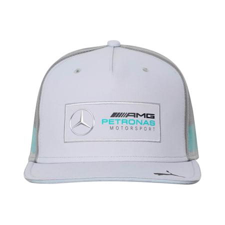 Mercedes Flat Brim Cap, Mercedes Team Silver, small-IND