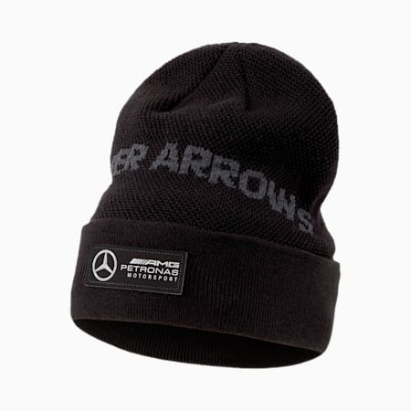 Mercedes Beanie, Puma Black, small