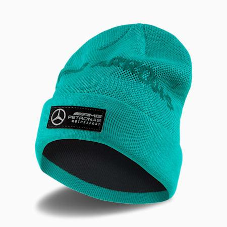 Mercedes AMG Petronas Beanie, Spectra Green, small