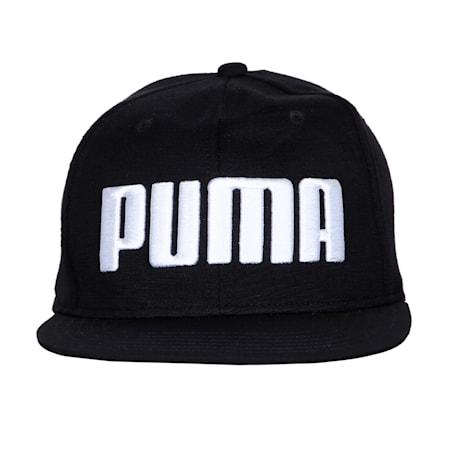 Flat Brim Cap, Puma Black, small-IND