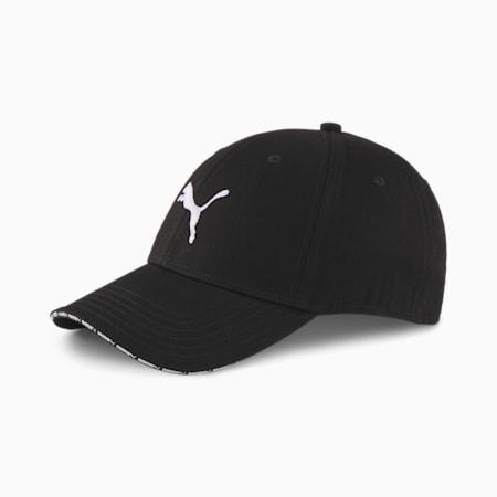 Woven Baseball Cap, Puma Black, small-IND