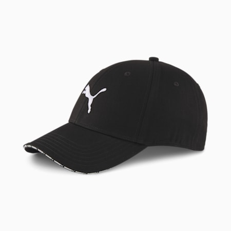 Woven Baseball Cap, Puma Black, small-SEA