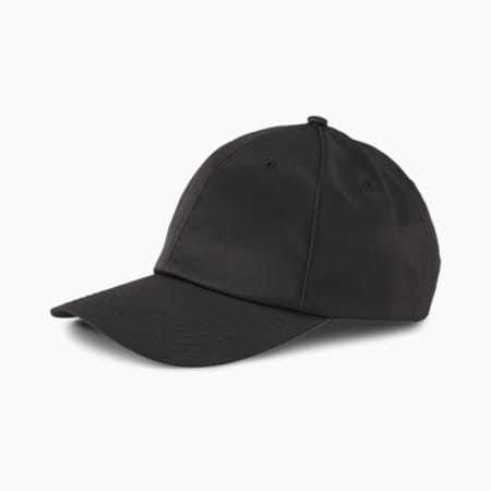 Style Satin Women's Baseball Cap, Puma Black, small-SEA
