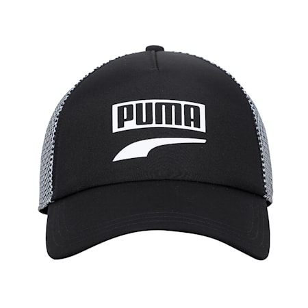 Trucker Snapback Cap, Puma Black, small-IND