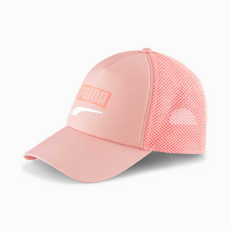 Trucker Snapback Cap, Apricot Blush, small