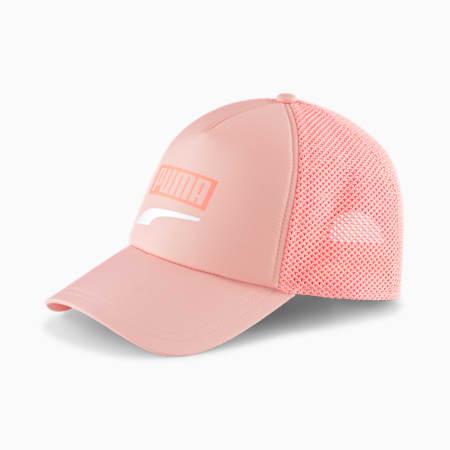 Trucker Snapback Cap, Apricot Blush, small
