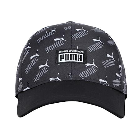 Academy Printed Cap, Puma Black-PUMA AOP, small-IND