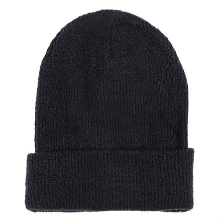 Women's Knit Beanie, Puma Black, small-IND