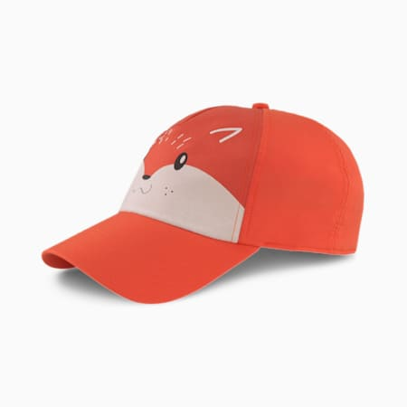 Animal Kinder Baseballcap, Paprika-Fox, small