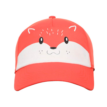 Animal Kids' Baseball Cap, Paprika-Fox, small-IND