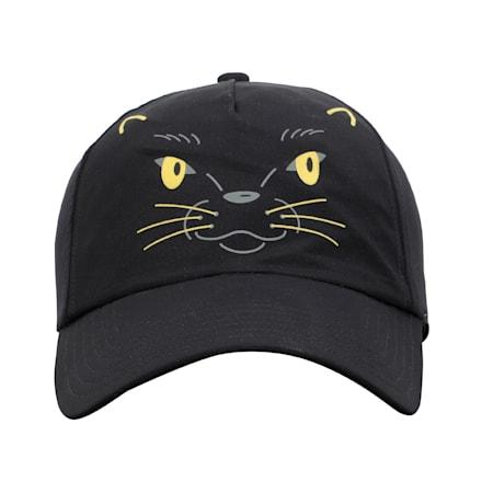 Animal Kids' Baseball Cap, Puma Black-Panther, small-IND