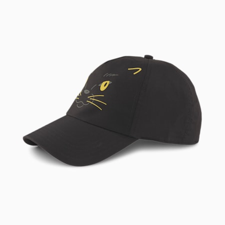 Animal Kids' Baseball Cap, Puma Black-Panther, small-SEA