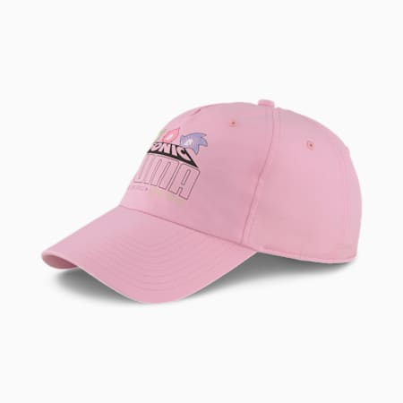 Bejsbolówka PUMA x SEGA BB, Pale Pink, small