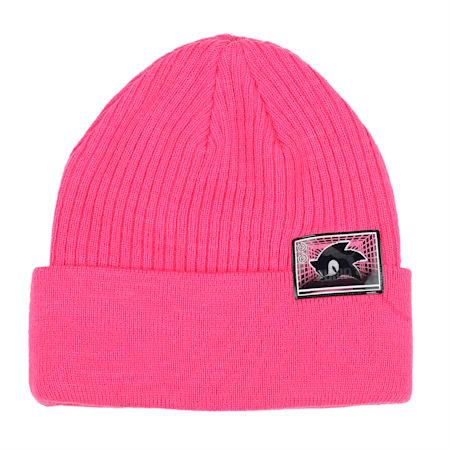 PUMA x SEGA Beanie, Glowing Pink, small-IND