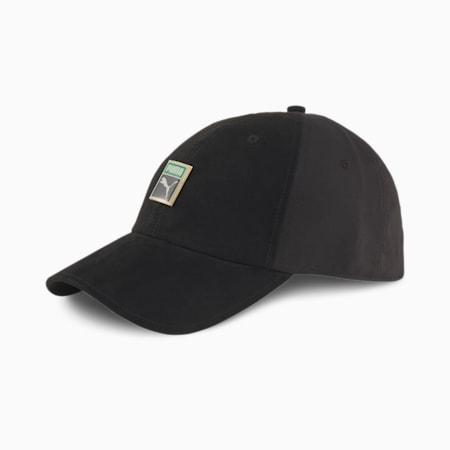 Classics Woven Trainer Cap, Puma Black, small-SEA