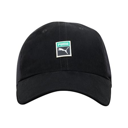 Classics Woven Trainer Cap, Puma Black, small-IND