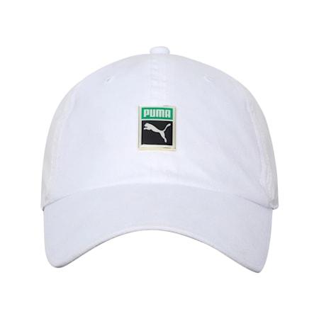 Classics Woven Trainer Cap, Puma White, small-IND