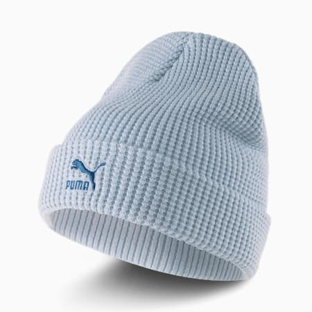 Gorro de lana Archive de calce medio, Blue Fog-intense blue Logo, pequeño