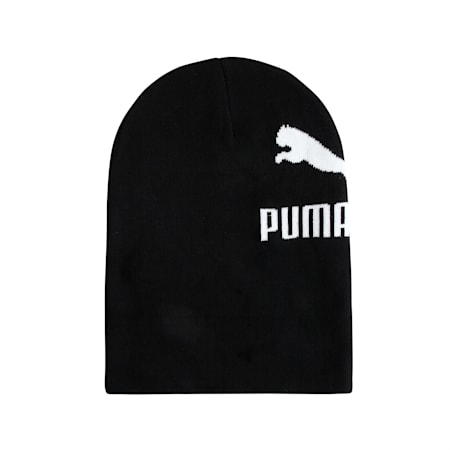 Classics Archive Logo Beanie, Puma Black, small-IND