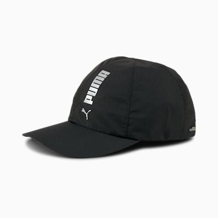 duoCELL Reflective Tec Running Cap, Puma Black, small-IND