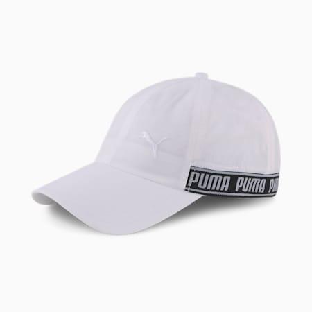 Running Baseballcap, Puma White, small