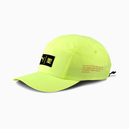 PUMA x FIRST MILE Runningcap, Fizzy Yellow, small