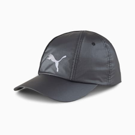 Women's Pearlised Cap, Puma Black-reflective, small-IND