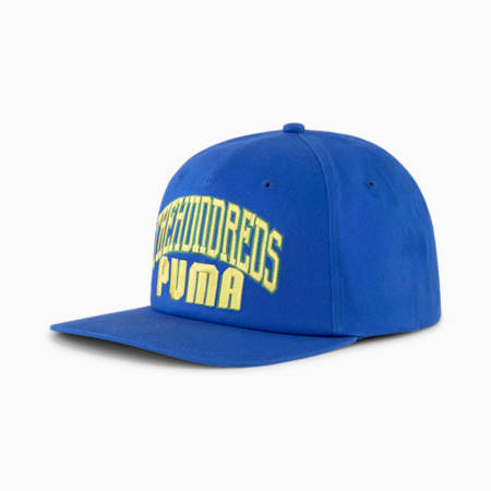 PUMA x THE HUNDREDS Cap, Olympian Blue, small-SEA
